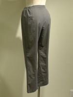 脇ゴムストレッチロングパンツ[長ズボン] 背面斜画像