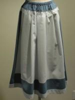 アールデコ ストライプロングスカート(婦人服)
