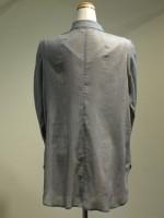 長袖ブラウス[シャツ]千鳥格子 背面画像