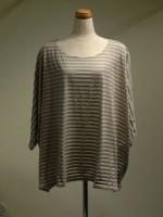 ドルマンスリーブTシャツ ボーダー(女性 婦人服)