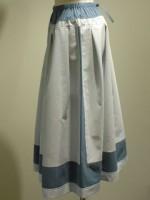 アールデコ ストライプロングスカート 側面画像