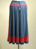 アールデコ ロングスカート 背面画像
