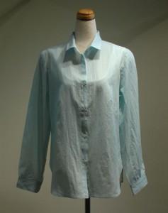 長袖ブラウス[シャツ] ストライプ(女性 婦人服)