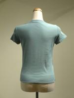 半袖Tシャツ Uネック 背面画像