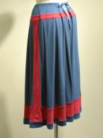 アールデコ ロングスカート 背面斜画像