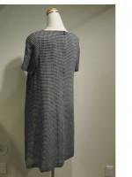 半袖Aラインワンピース[ワンピース] ギンガムチェック(女性 婦人服) 斜面画像