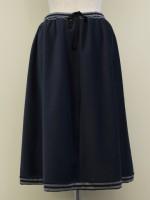 Aラインフレアースカート 背面画像