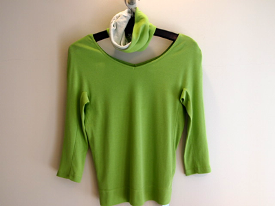 春のTシャツの画像