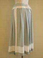アールデコロングスカート 背面斜画像