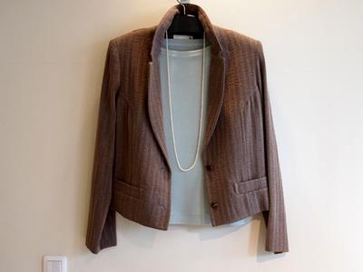 オリジナル60プラス 七分袖Tシャツボートネックの画像