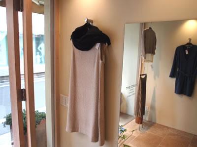 ノーカラーコート(女性 婦人服)の画像