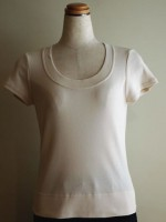半袖Tシャツ Uネック(女性 婦人服)