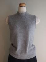 ウールアンゴラニット ノースリーブセーター(女性 婦人服)