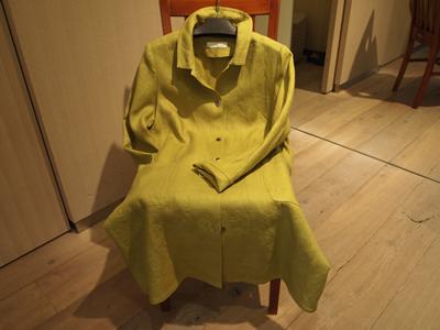 綾麻のコートの画像