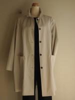 高密度綿 フレアコート(女性 婦人服)