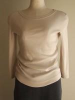 ボートネック七分袖Tシャツ(女性 婦人服)