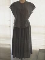 キュロットタックスカート(女性 婦人服)