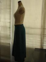 セミフレアスカート(マリンブルー)側面画像